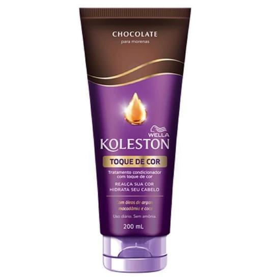 Imagem de Condicionador uso diário koleston 200ml toque de cor chocolate