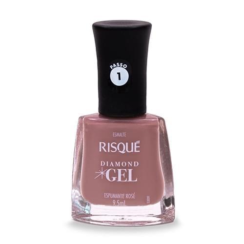 Imagem de Esmalte gel risqué 9,5ml espumante rose cremoso
