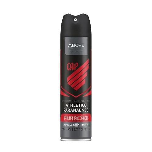 Imagem de Desodorante aerosol above 150ml masculino athletico paranaense
