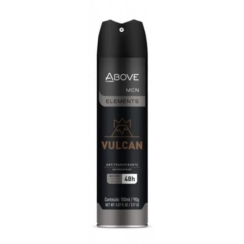 Imagem de Desodorante aerosol above 150ml masculino elements vulcan