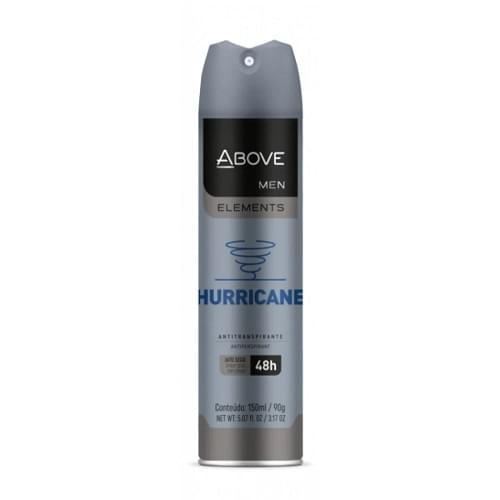 Imagem de Desodorante aerosol above 150ml masculino elements hurricane