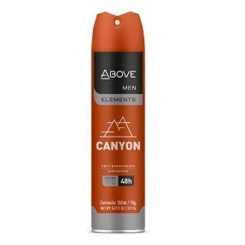 Imagem de Desodorante aerosol above 150ml masculino elements canyon