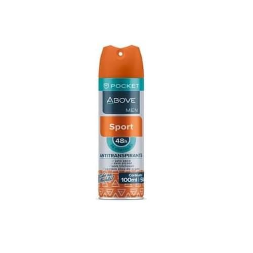 Imagem de Desodorante aerosol above 100ml masculino pocket sport