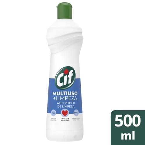 Imagem de Limpador multi-uso cif 500ml + limpeza