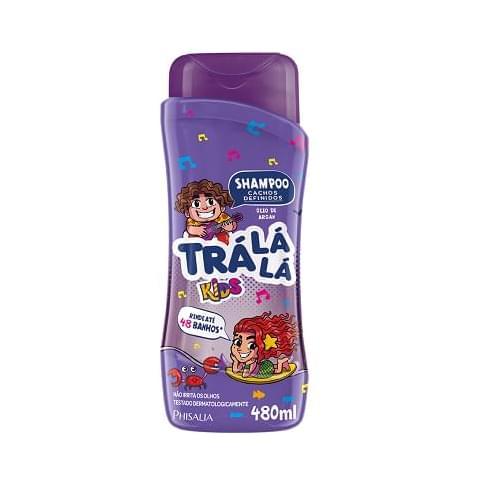 Imagem de Shampoo infantil trá lá lá 480ml cachos