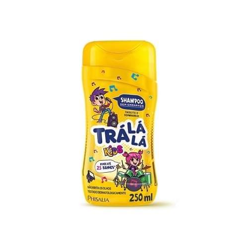 Imagem de Shampoo infantil trá lá lá 250ml sem embaraço