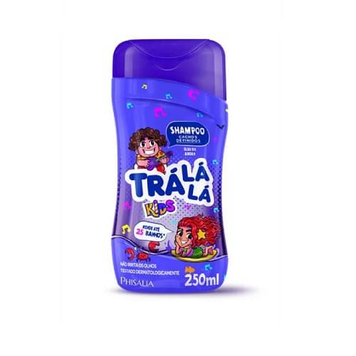 Imagem de Shampoo infantil trá lá lá 250ml cachos