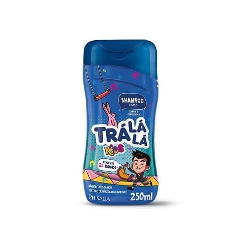 Imagem de Shampoo infantil trá lá lá 250ml 2x1 kids