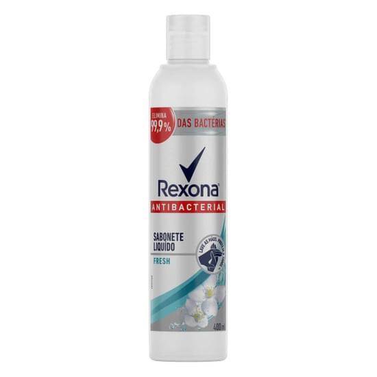 Imagem de Sabonete líquido uso diário rexona 400ml antibacterial fresh