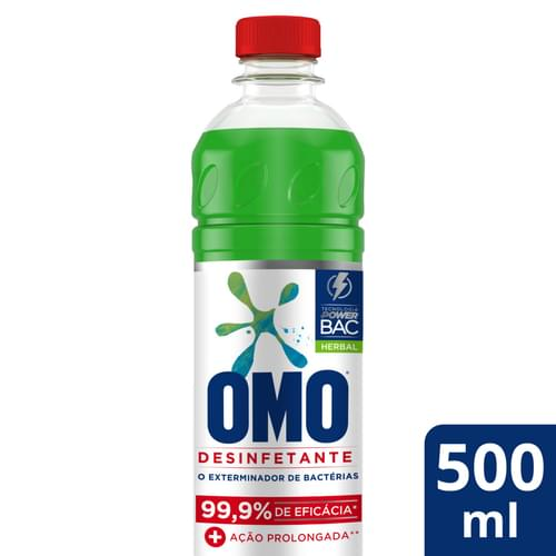 Imagem de Desinfetante uso geral omo 500ml herbal