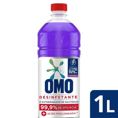 Imagem de Desinfetante uso geral omo 500ml lavanda