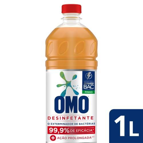 Imagem de Desinfetante uso geral omo 1l pinho