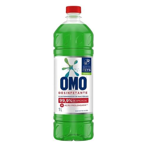 Imagem de Desinfetante uso geral omo 1l herbal