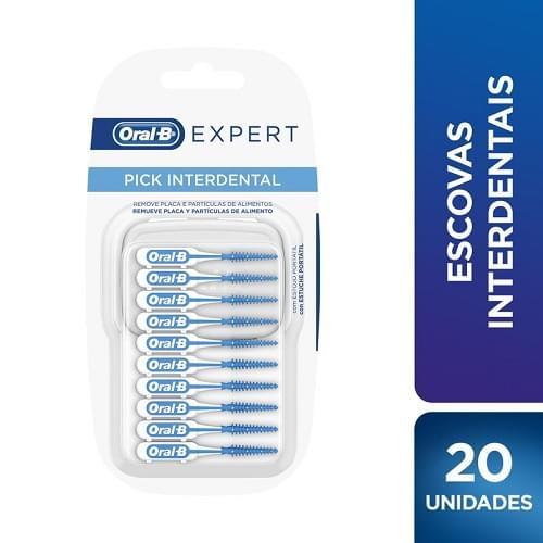 Imagem de Escova dental interdental oral-b c/20 expert