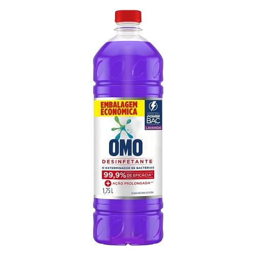 Imagem de Desinfetante uso geral omo 1.750l lavanda