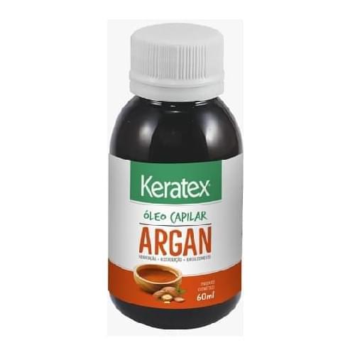 Imagem de Óleo capilar keratex 60ml óleo de argan