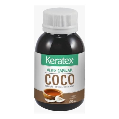 Imagem de Óleo capilar keratex 60ml oleo de coco