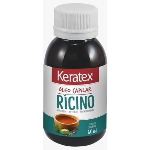 Imagem de Óleo capilar keratex 60ml óleo de rícino