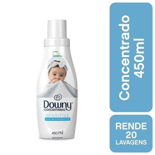 Imagem de Amaciante concentrado downy 450ml sensitive