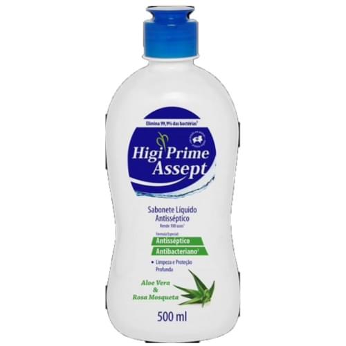 Imagem de Sabonete líquido bactericida higiprime 500ml aloe vera