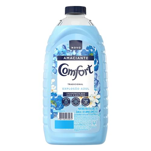 Imagem de Amaciante líquido comfort 1.800ml azul tradicional