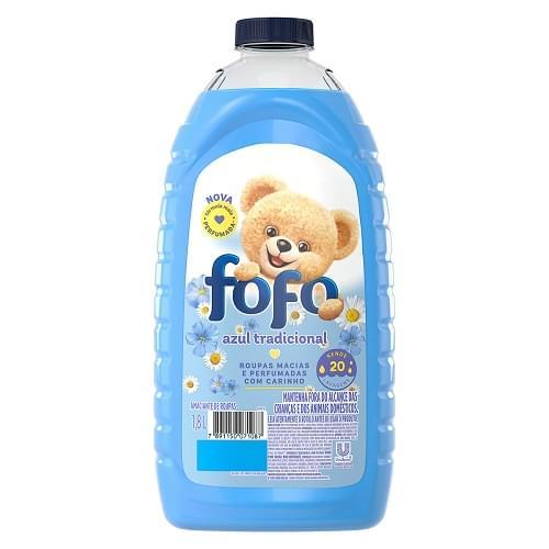 Imagem de Amaciante líquido fofo 1.800ml azul tradicional
