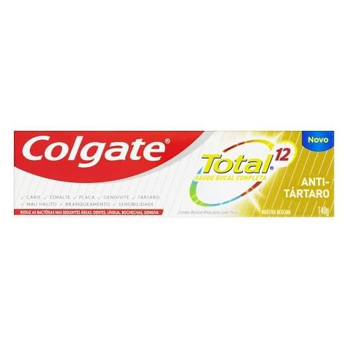 Imagem de Creme dental terapeutico colgate 140g anti tártaro