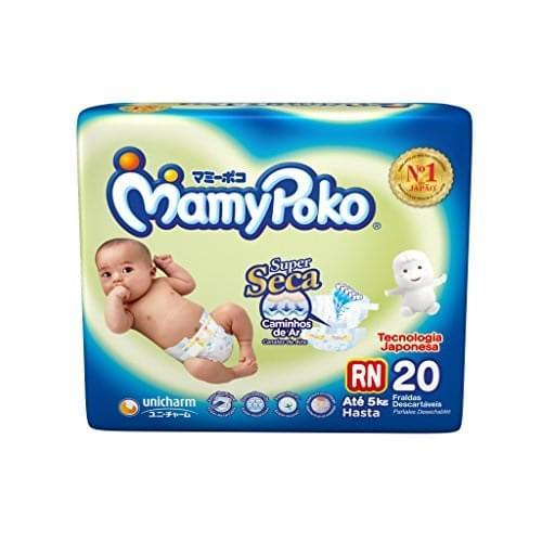 Imagem de Fralda infantil mamypoko c/20 fita rn