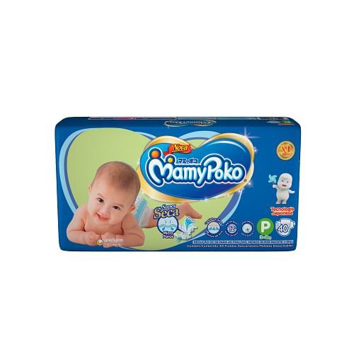 Imagem de Fralda infantil mamypoko c/40 p fita azul
