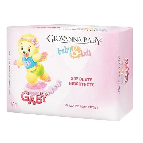 Imagem de Sabonete em barra infantil giovanna baby 80g giby rosa