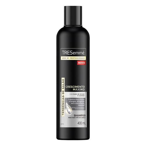 Imagem de Shampoo uso diário tresemmé 400ml crescimento máximo