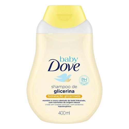 Imagem de Shampoo infantil dove baby 400ml hidratação glicerinada