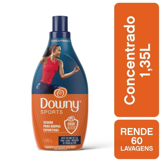 Imagem de Amaciante concentrado downy 1.350ml sports