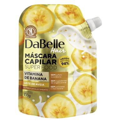 Imagem de Máscara tratamento dabelle 100g vitamina banana