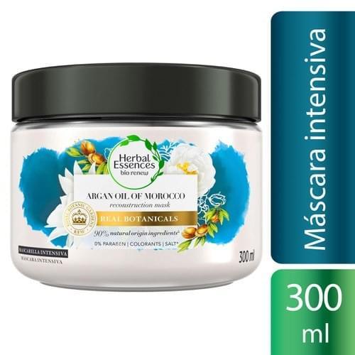 Imagem de Máscara tratamento herbal essences 300ml óleo argan