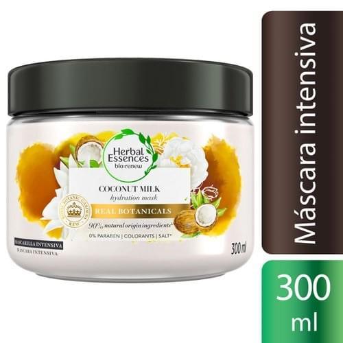 Imagem de Máscara tratamento herbal essences 300ml coco