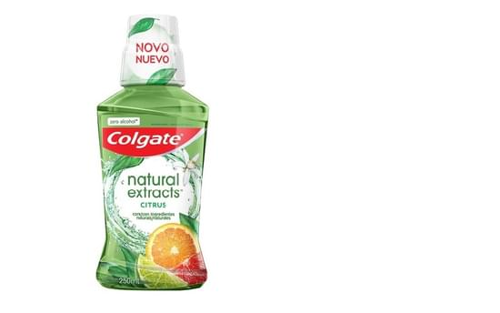 Imagem de Enxaguatório antisséptico colgate 250ml natural extracts citrus