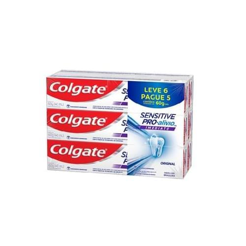 Imagem de Creme dental terapeutico colgate 60g sensitive pró alívio lv6pg5