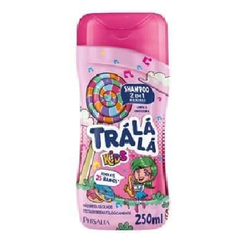 Imagem de Shampoo infantil trá lá lá 250ml 2x1 meninas
