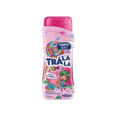 Imagem de Shampoo infantil trá lá lá 480ml 2x1 meninas