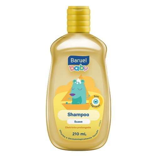 Imagem de Shampoo infantil baruel baby 210ml suave