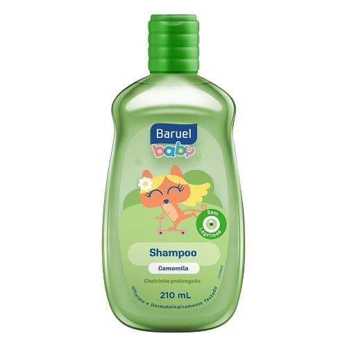 Imagem de Shampoo infantil baruel baby 210ml camomila