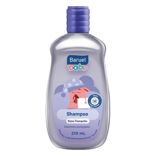 Imagem de Shampoo infantil baruel baby 210ml sono tranquilo