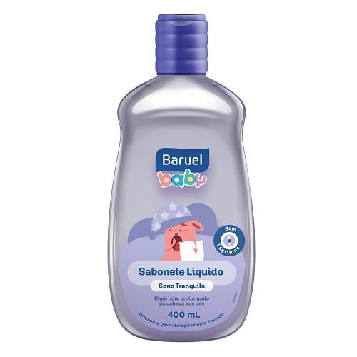 Imagem de Sabonete líquido infantil baruel baby 400ml sono tranquilo