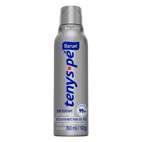 Imagem de Desodorante para pés baruel 150ml sem perfume
