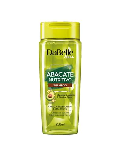 Imagem de Shampoo uso diário dabelle 250ml abacate nutritivo