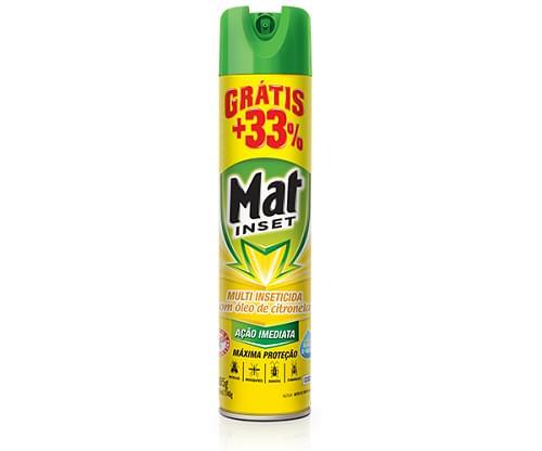 Imagem de Inseticida aerosol mat inset 360ml multi citronela promocional