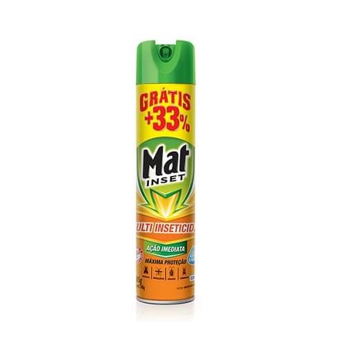Imagem de Inseticida aerosol mat inset 360ml multi inseticida promocional