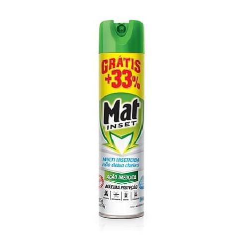 Imagem de Inseticida aerosol mat inset 360ml multi sem cheiro promocional