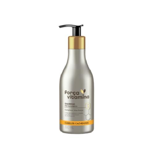 Imagem de Shampoo uso diário força vitamina 300ml cacheado